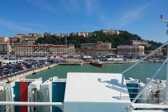 Ancona Hafen Einfahrt 2016