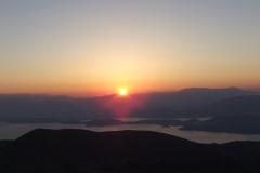 Pantokrator Sonnenaufgang 2014